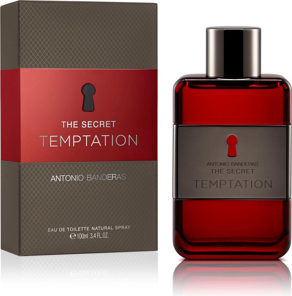 Toaletna voda Antonio Banderas, The Secret Temptation, moška, 100ml