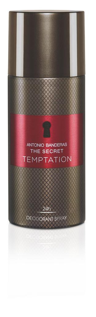 Dezodorant Antonio Banderas, The Secret Temptation, moški, 150ml