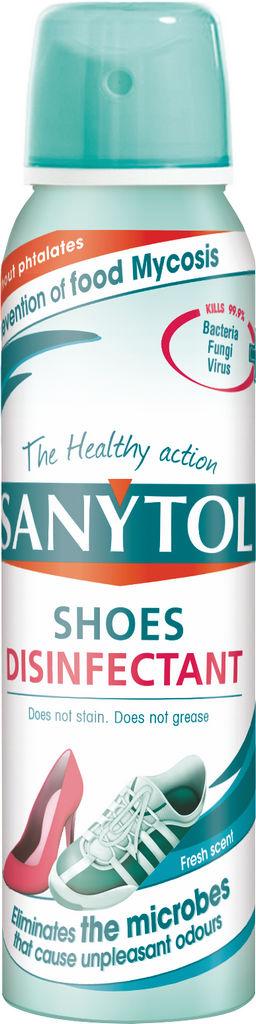 Sprej Sanytol za dezinfekcijo čevljev, 150ml