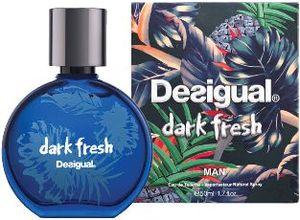 Toaletna voda Desigual Dark Fresh, moška, 50ml