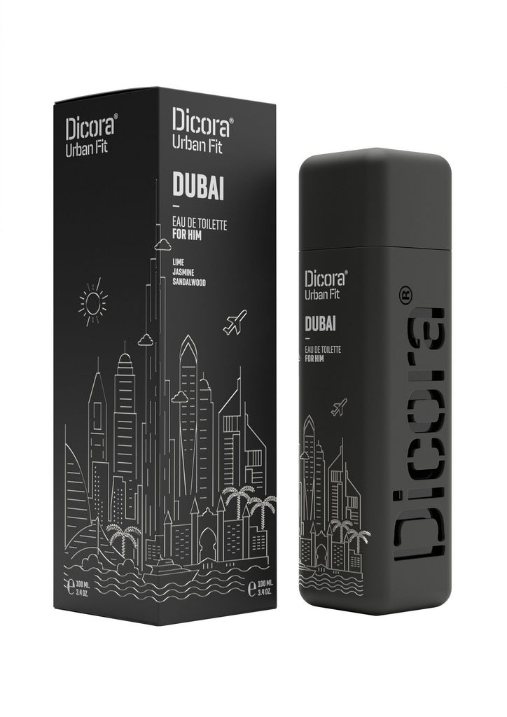 Toaletna voda Dicora Urban Fit Dubai, moška, 100ml