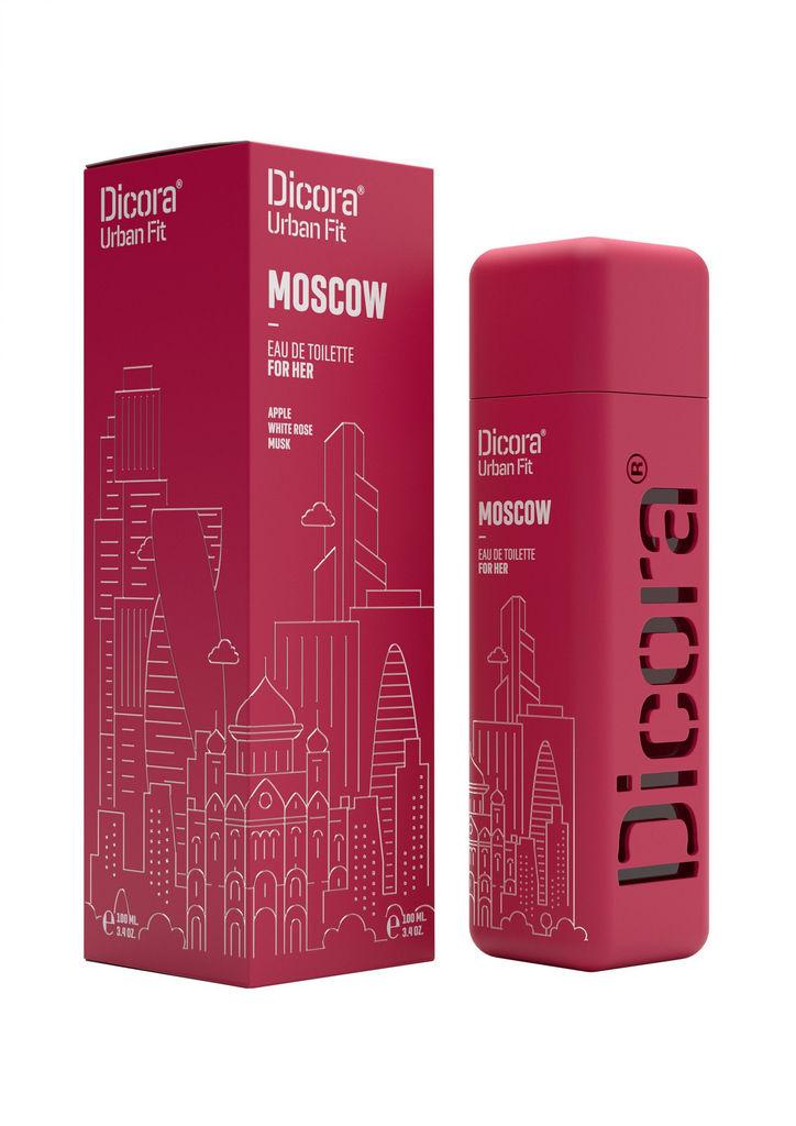 Toaletna voda Dicora Urban Fit Moscow, ženska, 100 ml