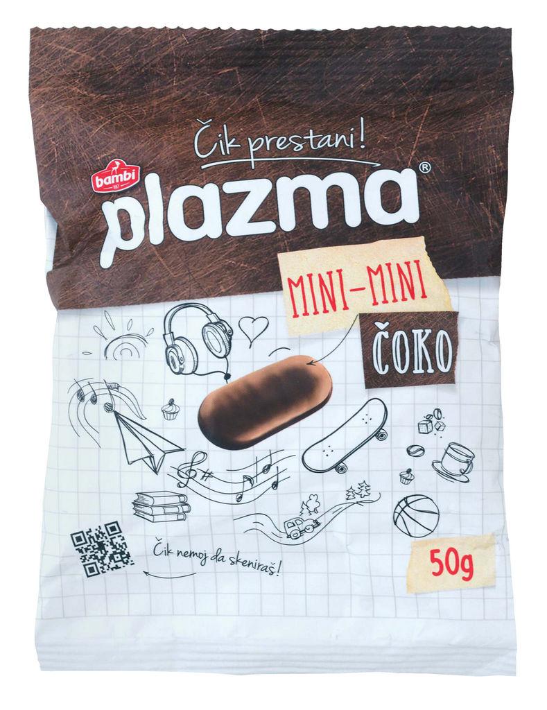 Keksi Plazma Mini Mini choco, 50 g