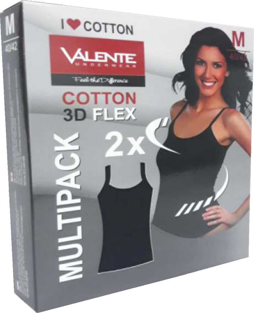 Majica spodnja, ženska, black flex, vel.XL, 2/1