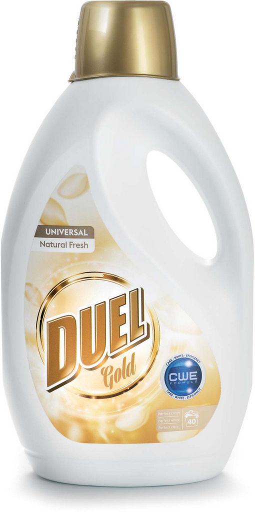 Detergent Duel , tek., Uni natural fresh,40 pranj, 2,6l