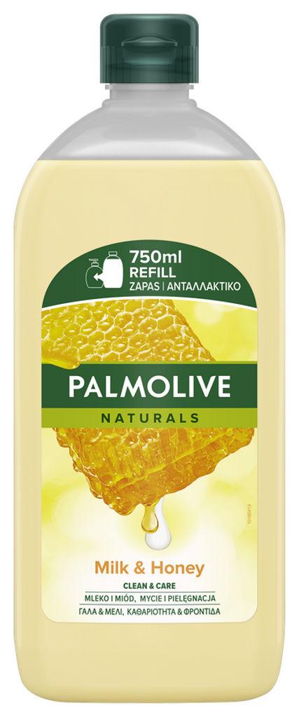 Milo tekoče Palmolive med&mleko, refil,750ml
