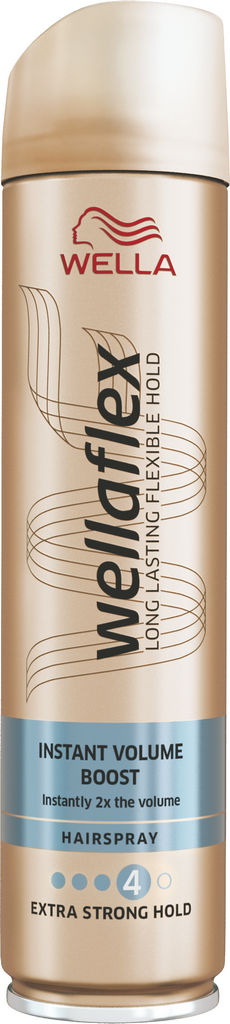 Lak za lase Wellafrex, Volumen boost, 250 ml