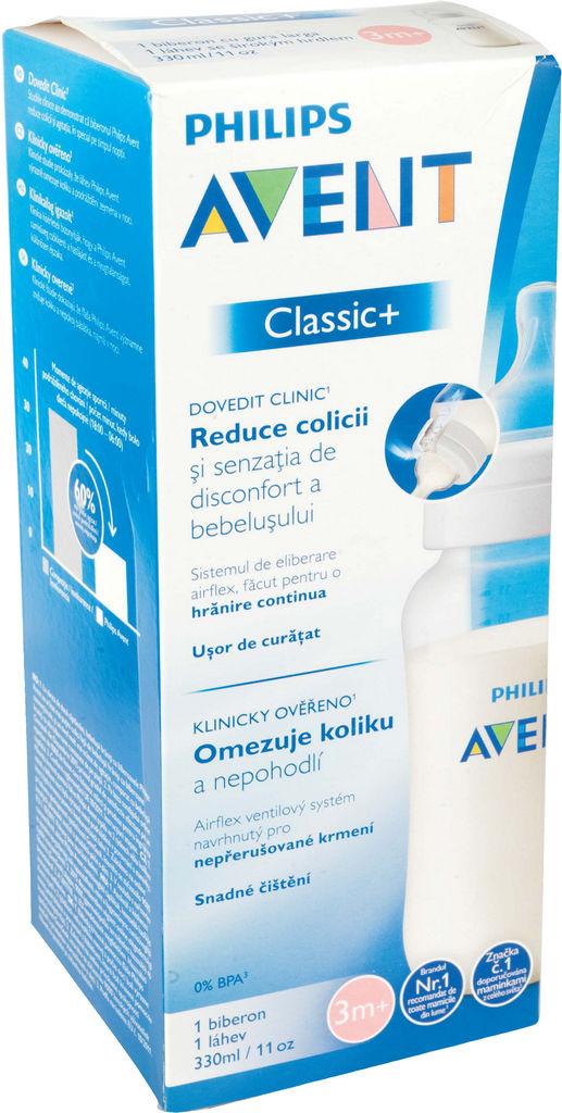 Steklenička Avent, anti colic, 330ml