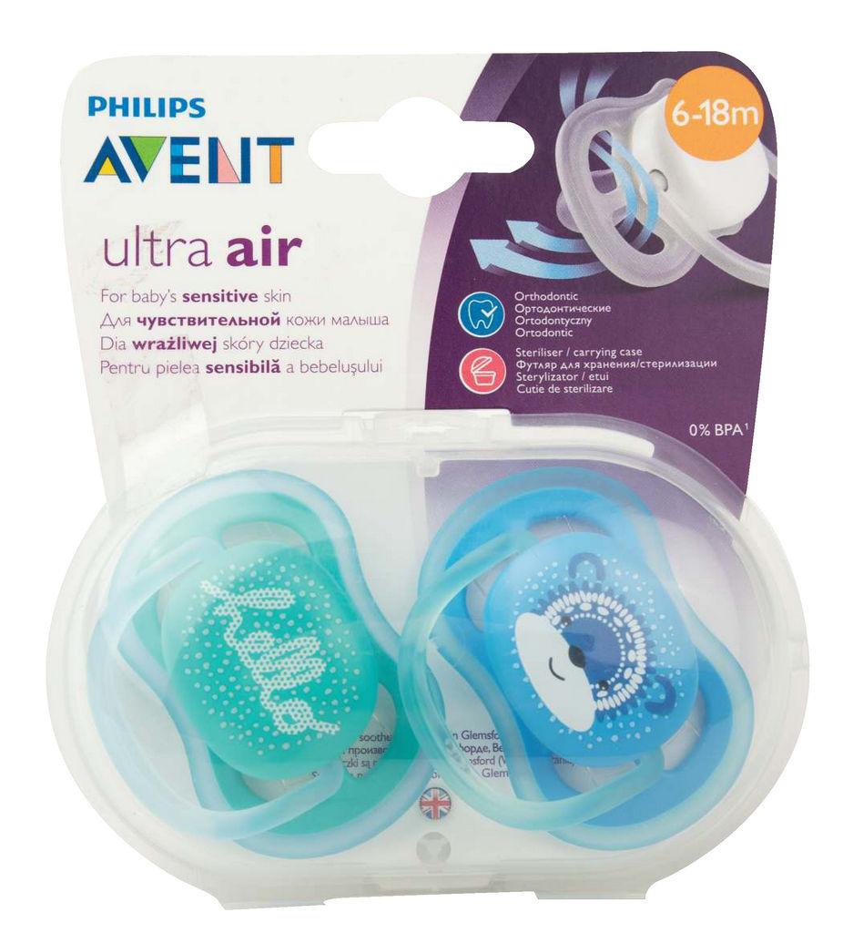 Duda Avent, Ultra air, tol., sil., 6-18mes.