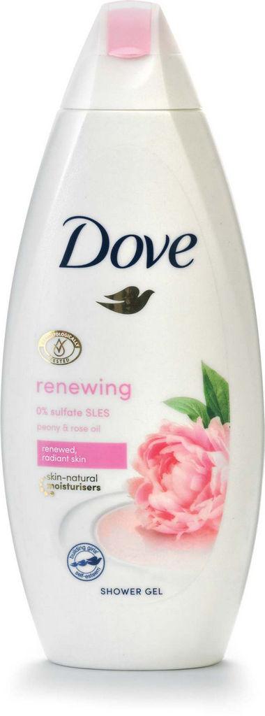 Gel za prhanje Dove, ž., Sweet.cr.peony, 250ml