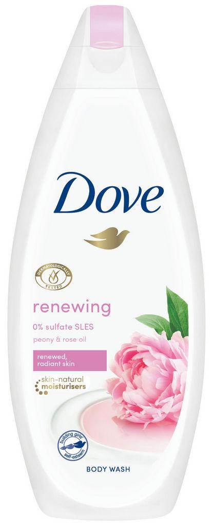 Gel za prhanje Dove, Peony&rose oil, 500ml