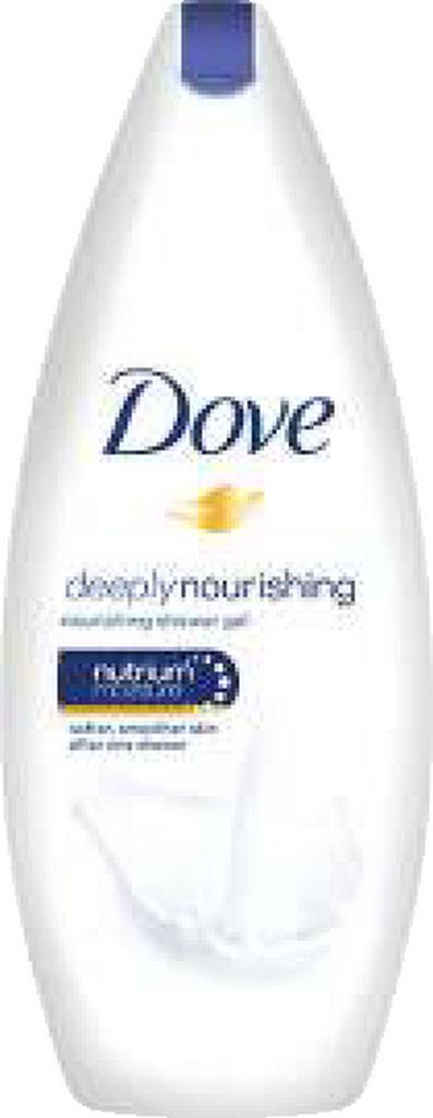 Gel za prhanje Dove, deeply nourishing, 250ml