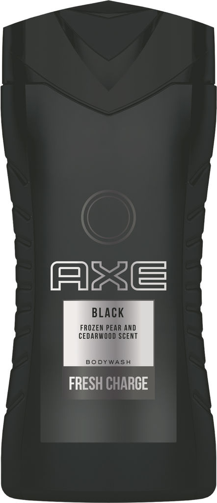 Gel za prhanje Axe, black, 250ml