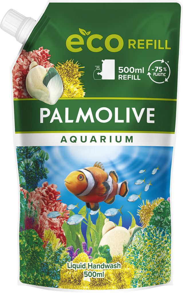 Milo tekoče Palmolive Aquarium, polnilo, 500 ml