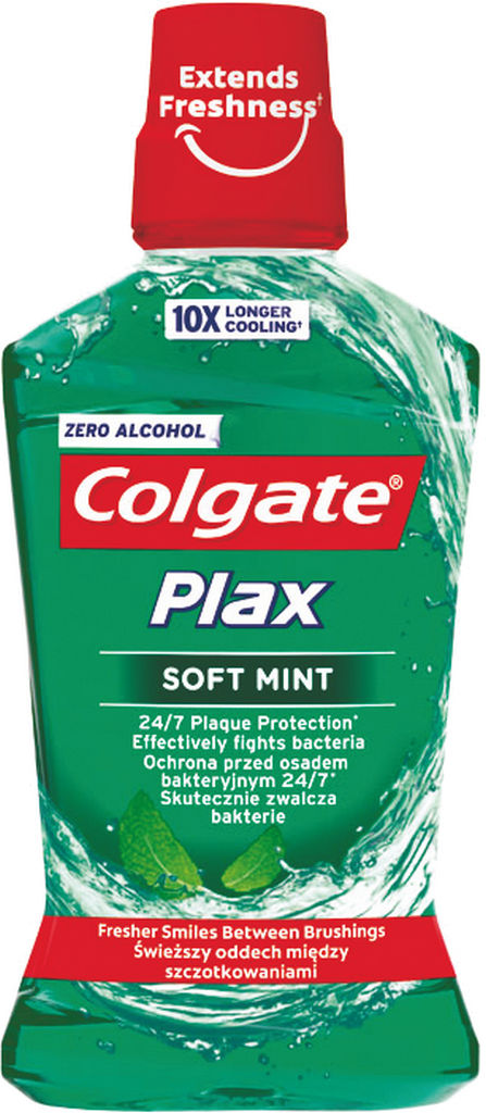 Ustna voda Plax, zelena, 500ml