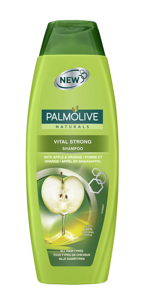 Šampon Palmolive, Vital strong, jabolko, 350 ml