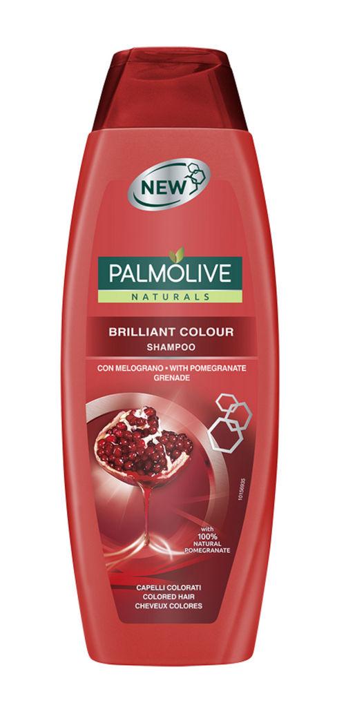 Šampon Palmolive, brilliant color, pomegranate, 350 ml