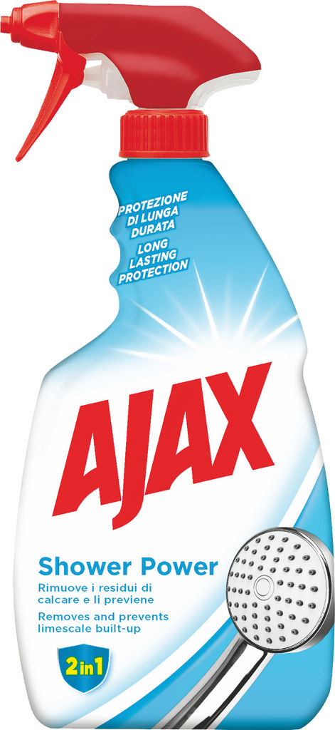 Čistilo Ajax, shower power trigger, 600ml