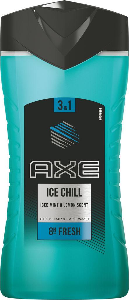 Gel za prhanje Axe, moški, Ice chill, 250ml