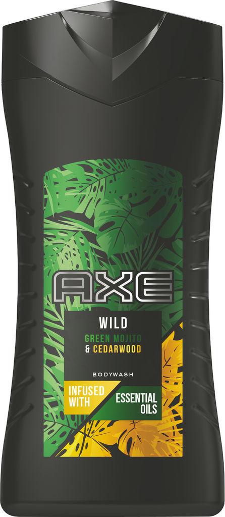Gel za prhanje Axe, moški, Greenmihi & Cedwod, 250 ml