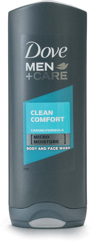 Gel za prhanje Dove, clean comfort, 250ml