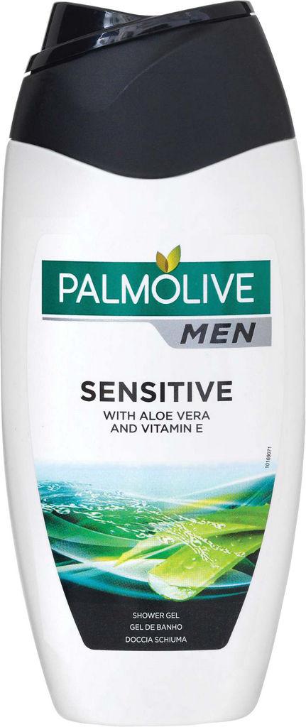 Gel za prhanje Palmolive, moški, Sensitive, 250ml