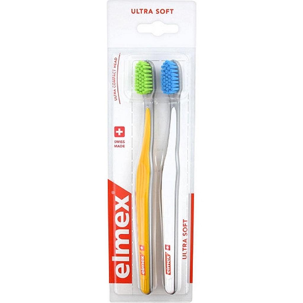 Zobna ščetka Elmex, ultra soft, 2/1