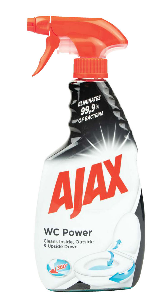 Čistilo Ajax, Wc power, sprej, 500ml
