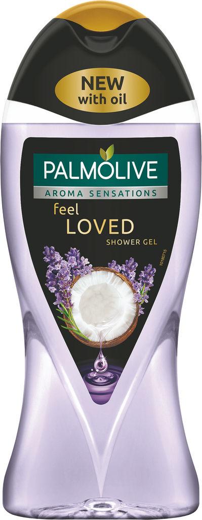Gel za prhanje Palmolive, Aroma S., Feel loved, 250ml