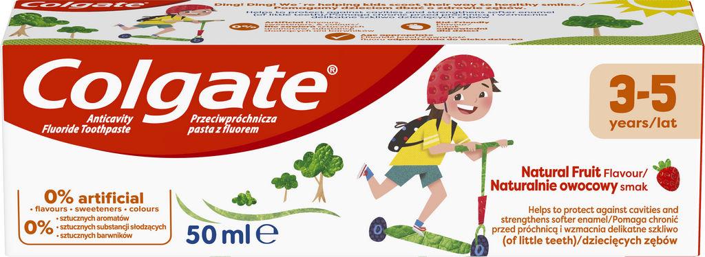 Zobna pasta Colgate, otroška, 3-5let, 50ml