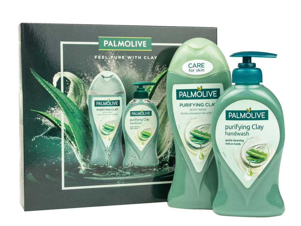 Darilni paket Palmolive, Feel pure with clay
