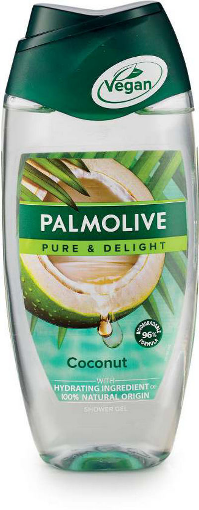 Gel za prhanje Palmolive, pure coconut, 250ml