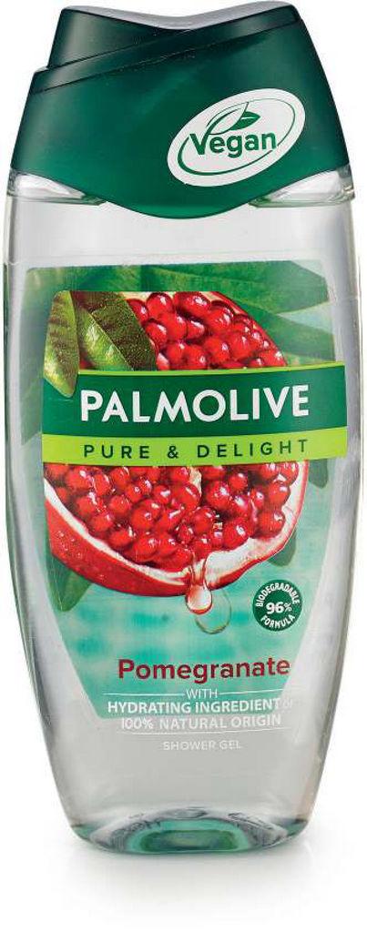 Gel za prhanje Palmolive, pure pomegranate, 250ml