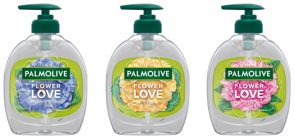 Milo Palmolive, tek., Flower love, 300ml