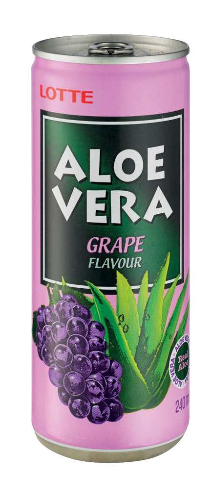 Pijača Aloe Vera, grozdje, 0,24 l