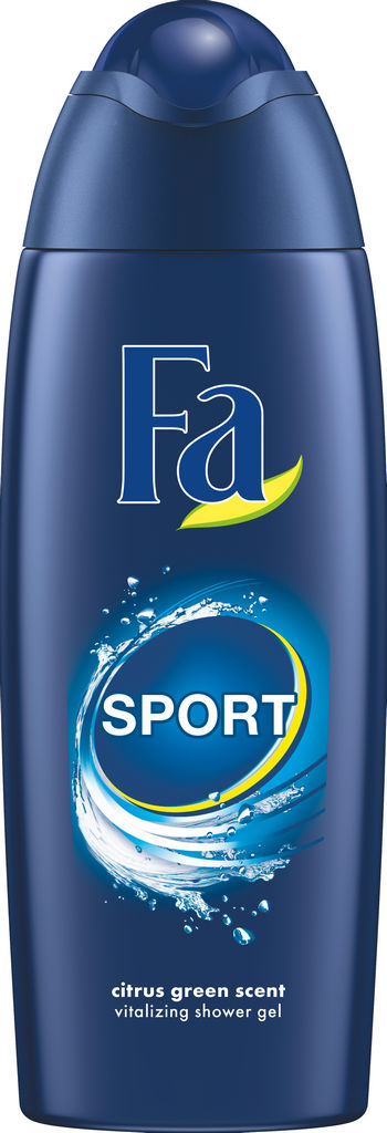 Gel za prhanje Fa, active sport, 250ml
