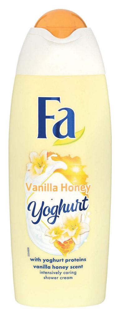 Gel za prhanje Fa, yoghurt&vanilia, 250ml