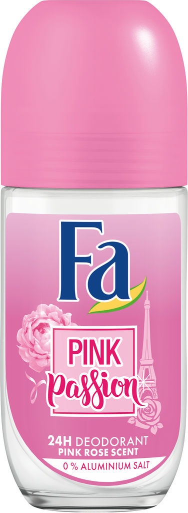 Dezodorant roll-on Fa, Pink passion, 50ml