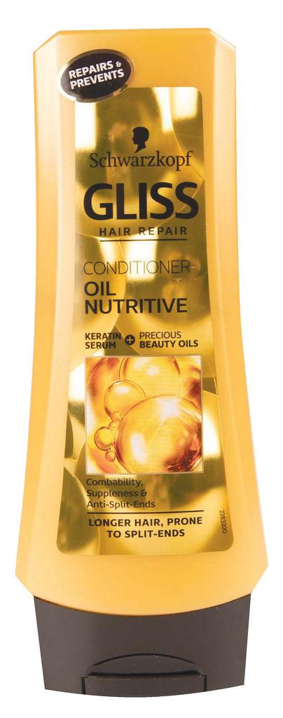 Balzam za lase Gliss, Oil Nutritive, 200 ml