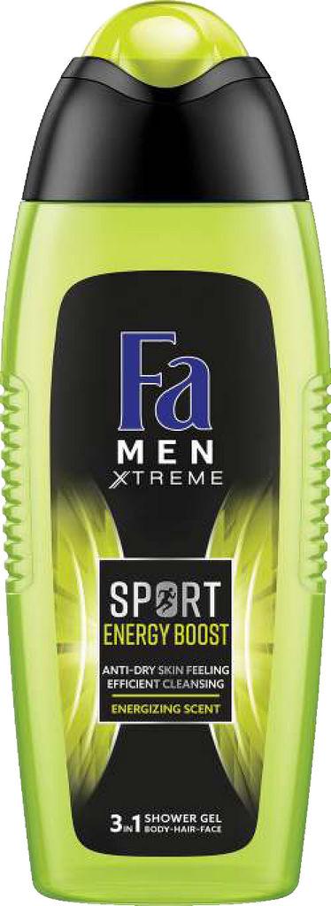 Gel za prhanje Fa, Sport energy boost, 400ml