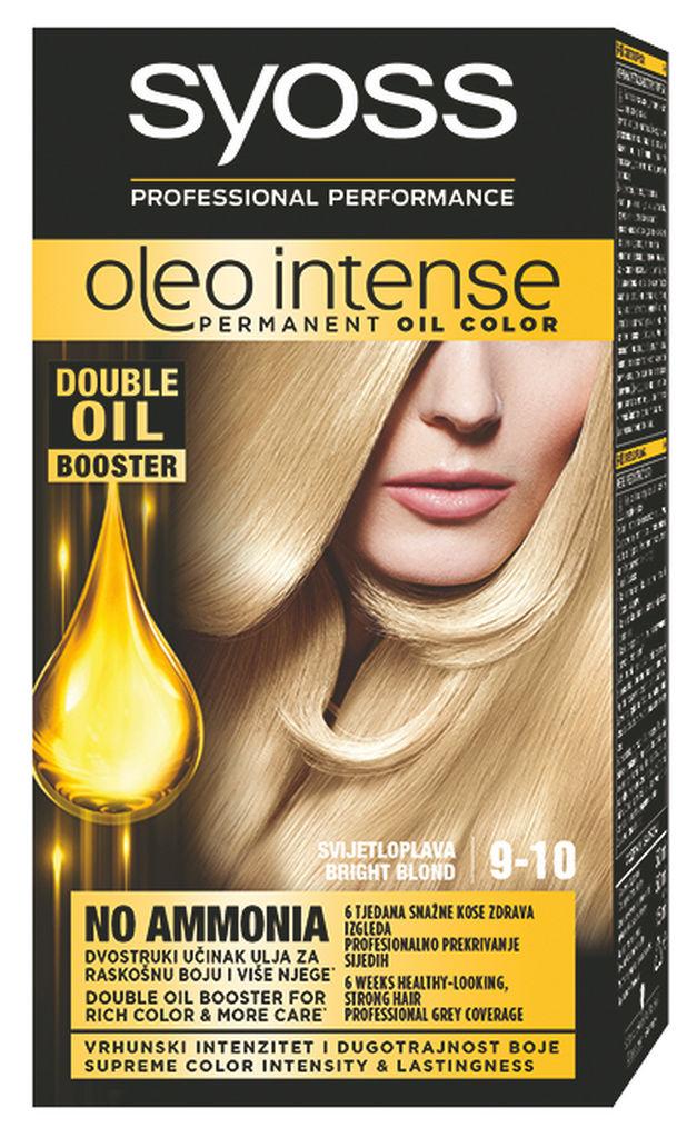Barva za lase Syoss Oleo, svetlo blond, 9-10