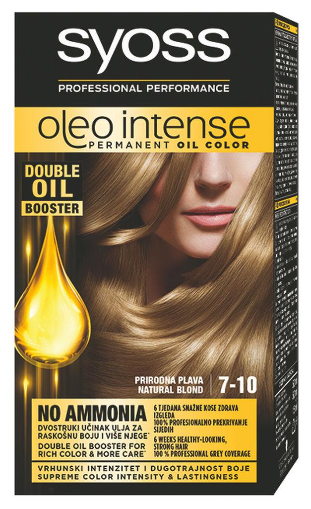 Barva za lase Syoss Oleo, nar.blond, 7-10