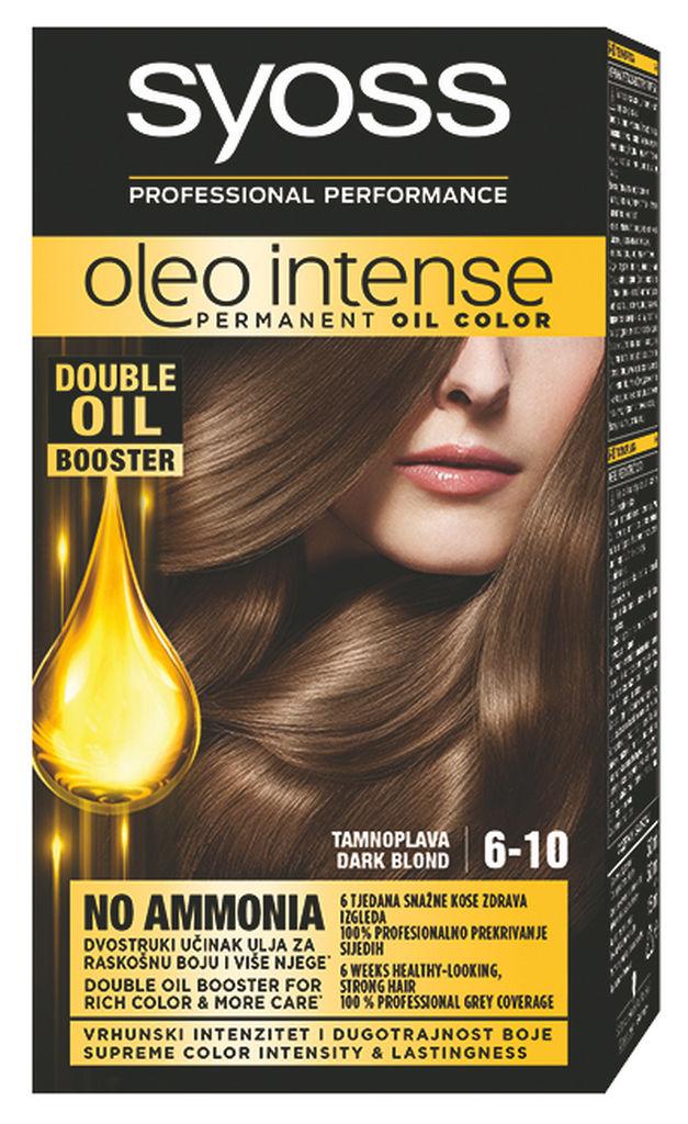 Barva za lase Syoss Oleo, temno blond,6-10