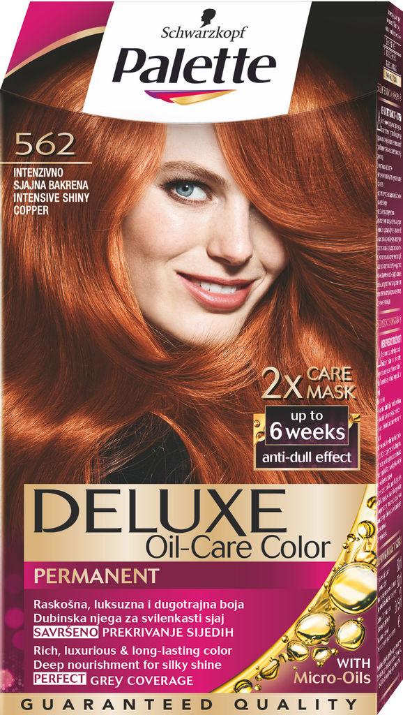 Barva Palette Deluxe, 562, sijajno bakrena