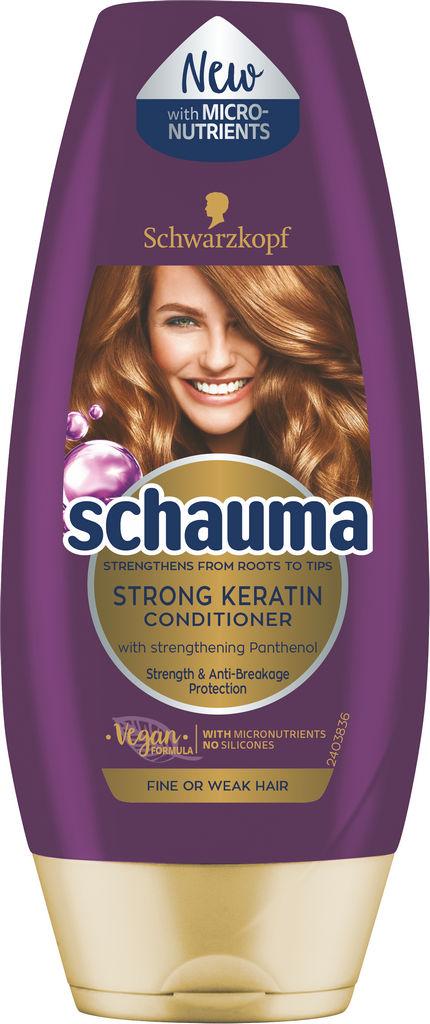Balzam za lase Schauma keratin, 200ml