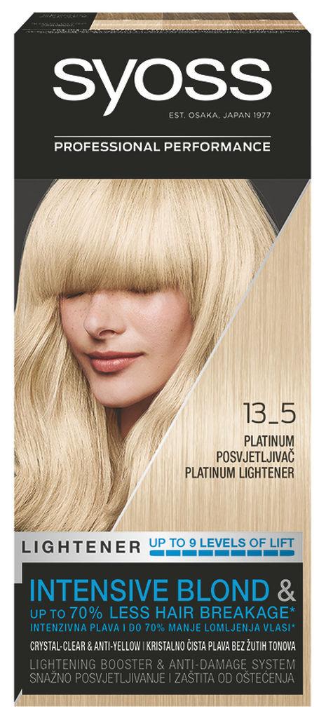 Barva za lase Syoss, Platinasti posvet., 13-5