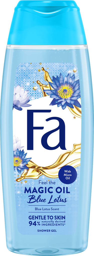 Tuš gel Fa, magic oil, blue lotus, 250ml