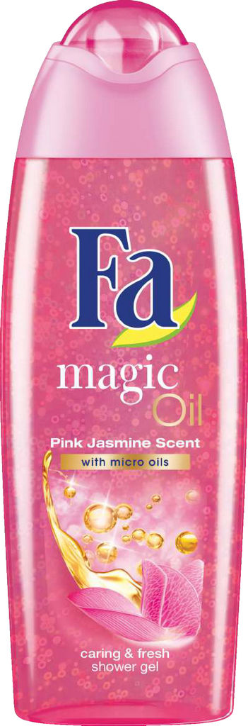 Gel za prhanje Fa, Magic oil pink, jasmin, 250ml