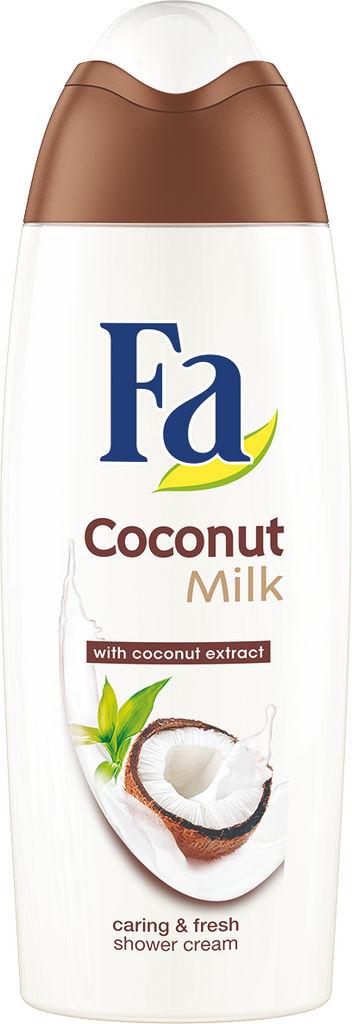 Gel za prhanje Fa, coconut milk, 250 ml
