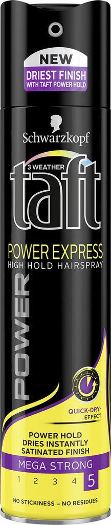 Lak za lase Taft, Power express, 250 ml